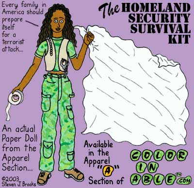 The Homeland Security Survival Kit, Click to see the kit